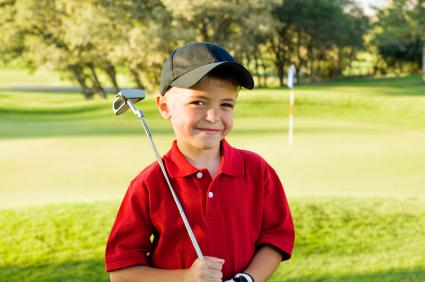 儿童高尔夫球运动