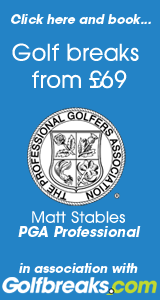 Golfbreaks and golf holidays from �69